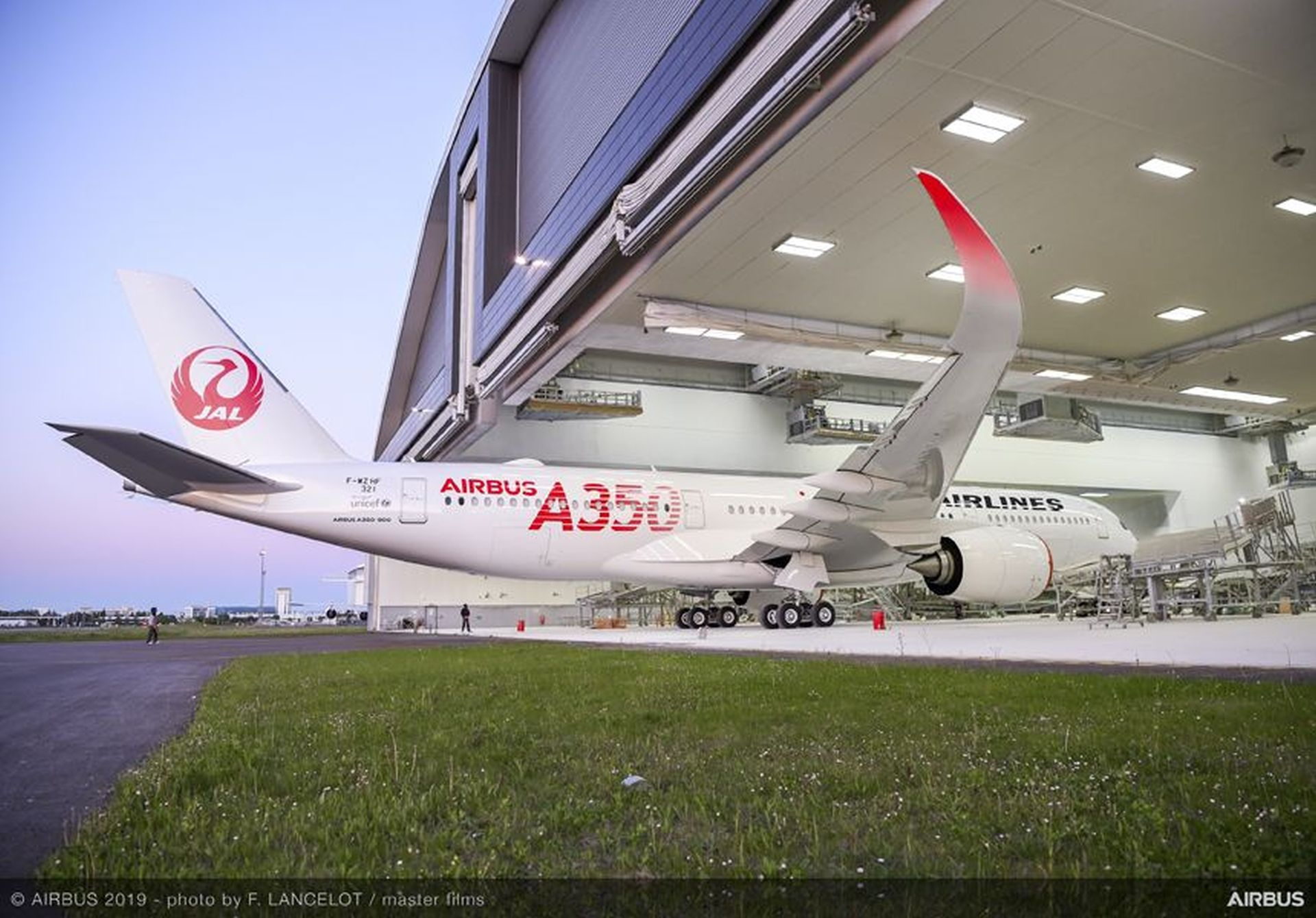 A350-900 v barvách Japan Airlines. Foto: Airbus