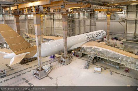 A350-1000 v lakovně Airbusu v Toulouse. Foto: Airbus
