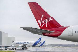 A350-1000 v barvách Virgin Atlantic v Toulouse. Foto: Virgin Atlantic