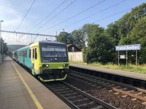 Jednotka 845.2. po modernizaci v barvách Arriva vlaky. Foto:  Arriva