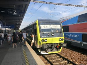 Modernizovaná jednotka 845.2. Foto: Arriva