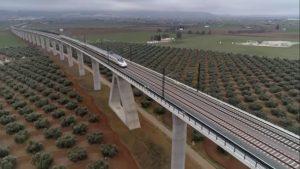 Nová vysokorychlostní trať do Granady. Foto: Adif