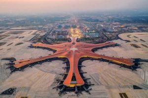 Nové letiště v Pekingu. Foto: Daxing International Airport