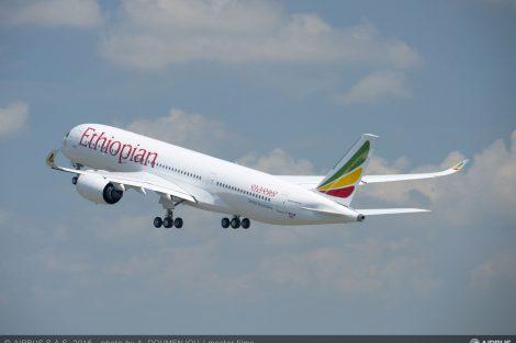 Airbus A350-900 společnosti Ethiopian Airlines. Foto: Airbus