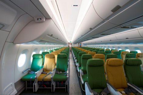 Interiér A350-900 Ethiopian Airlines. Foto: Ethiopian Airlines