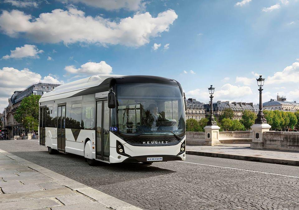 Autobus GX337ELEC od společnosti Heuliez