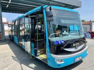 Elektroautobus SOR EBN 11. Foto: Arriva