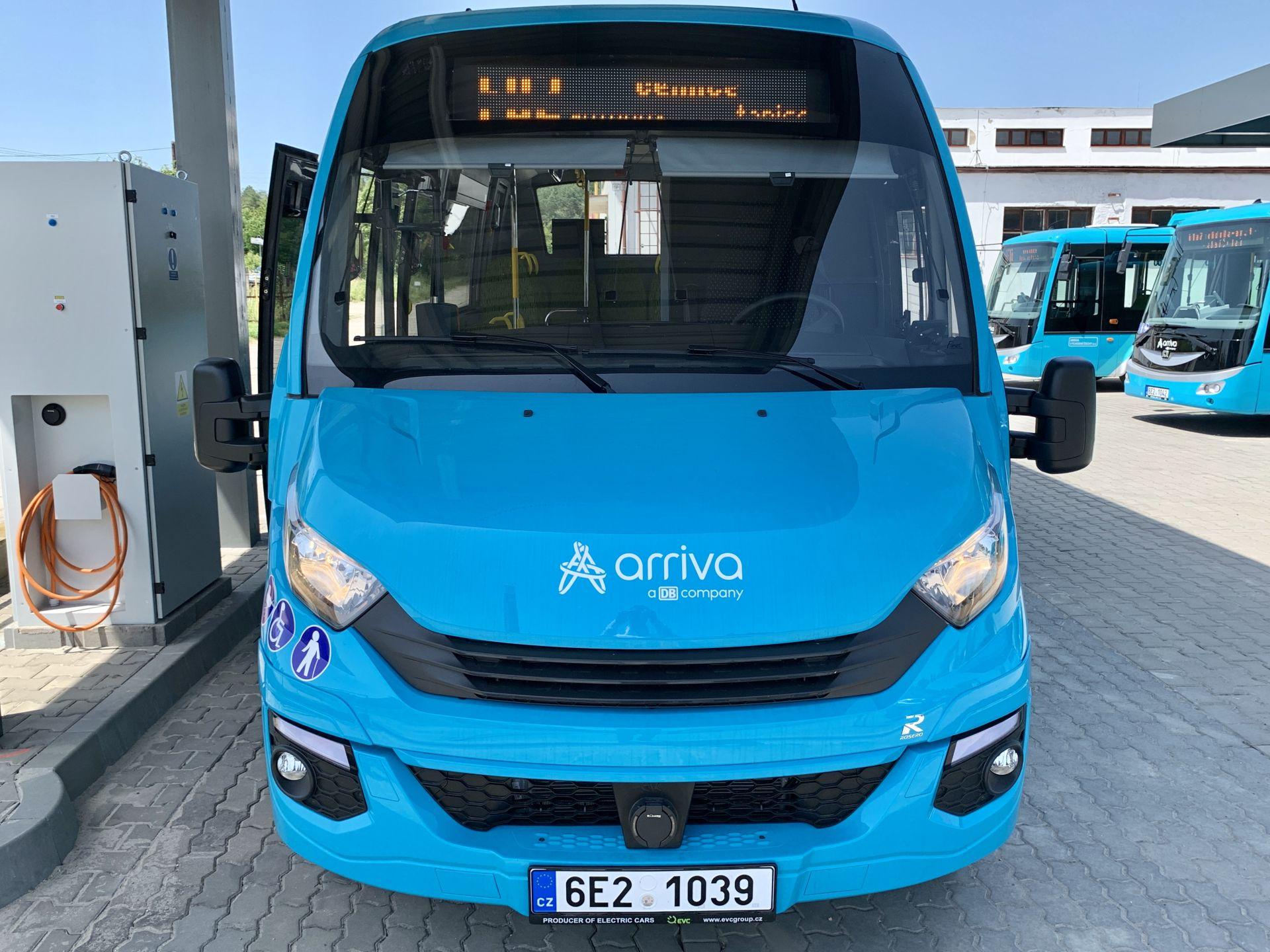 Elektrický minibus First FCLEI od společnosti Rošero - P. Foto: Arriva