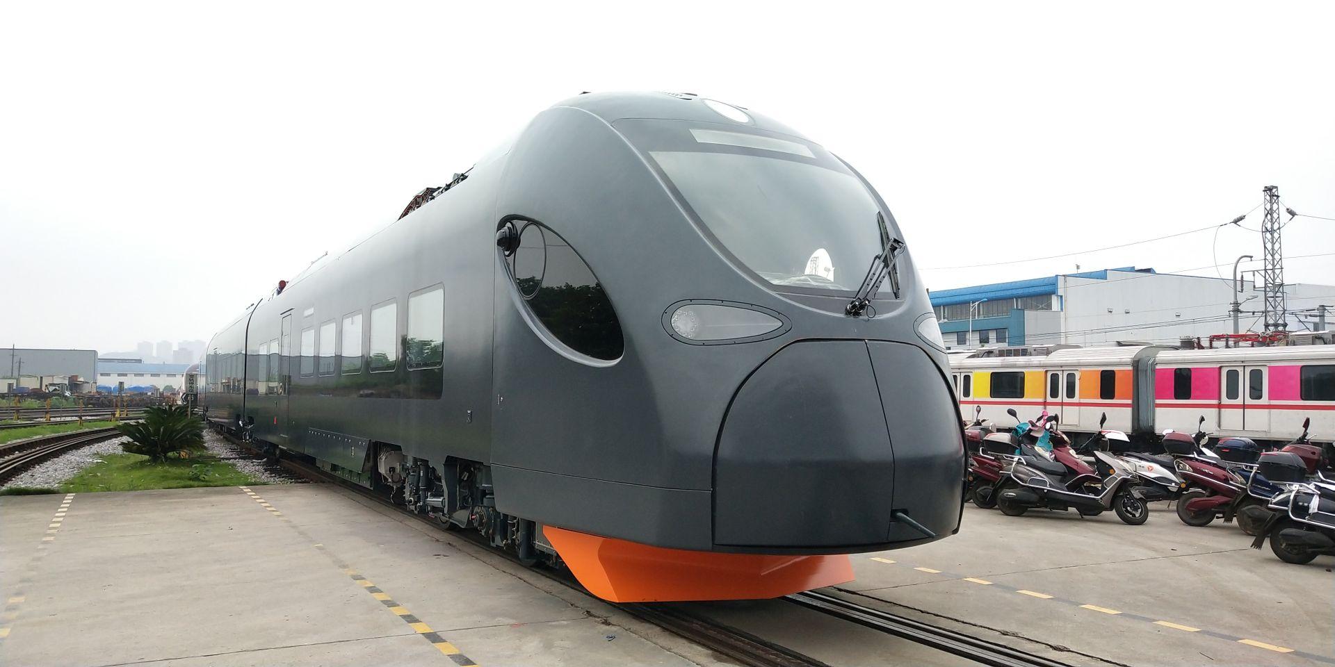 Nová jednotka od čínského výrobce CRRC pro Leo Express. Foto: LE