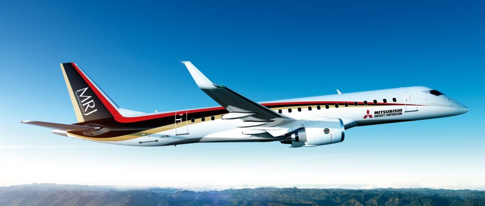 Mitsubishi Regional Jet. Foto: Mitsubishi