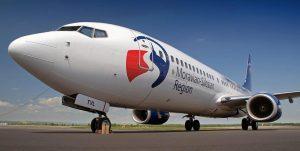 Boeing 737-800 v reklamních barvách Moravskoslezského kraje na Letišti Ostrava. Foto: FB Letiště Ostrava