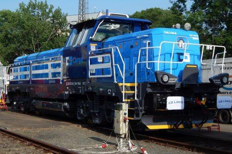 Lokomotiva EffiShunter 1000 pro ČD Cargo od CZ LOKO. Foto: Jan Šindelář