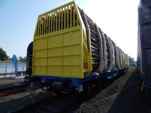 Vůz Smart GigaWood na přepravu dřeva. Foto: Zdopravy.cz / Jan Šindelář