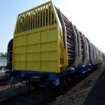 Nový nákladní vůz pro přepravu dřeva. Foto: Jan Šindelář