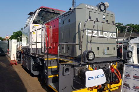 HybridShunter 400 od CZ LOKO. Foto: Jan Šindelář