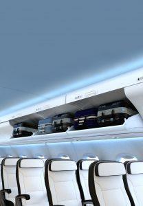 Interiér SpaceJet M100. Foto: Mitsubishi