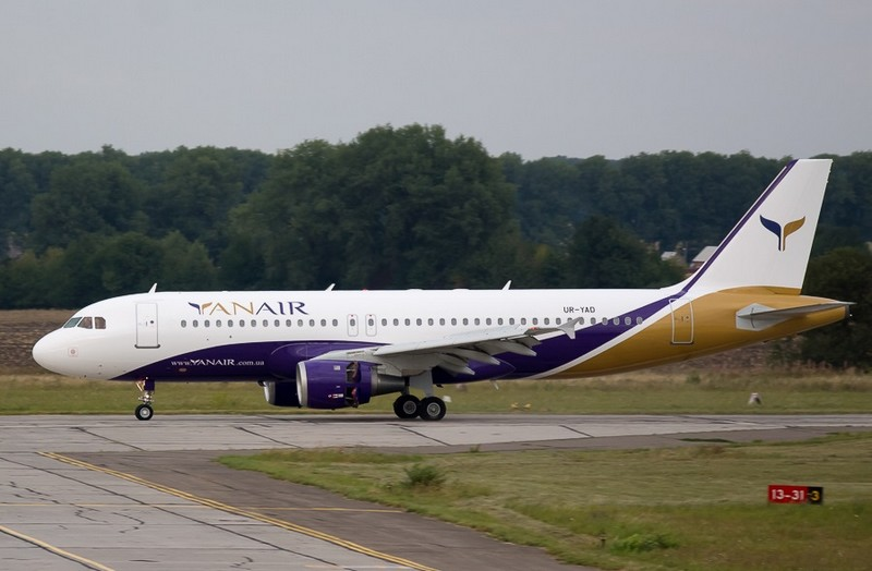 Airbus A320 společnosti YanAir. Foto: YanAir