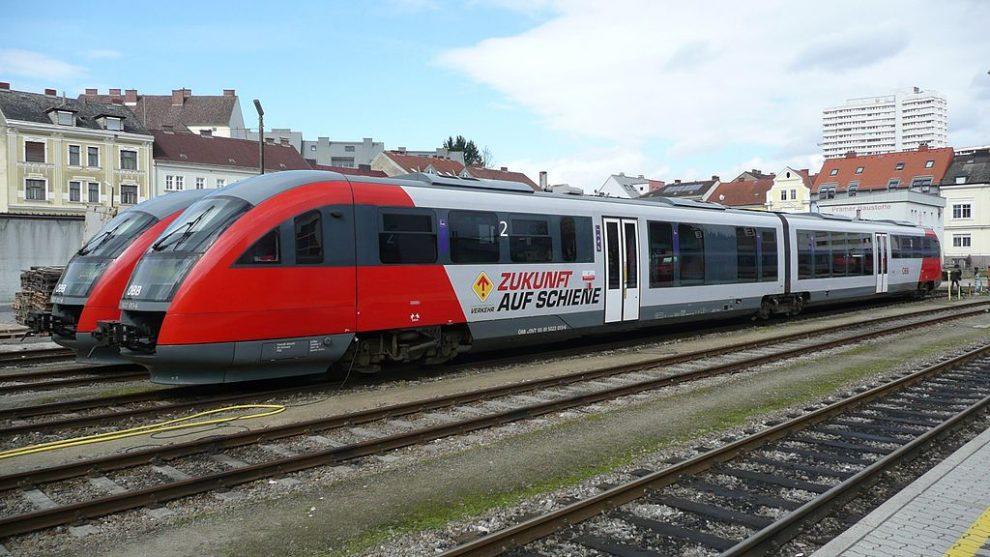 Siemens Desiro na nádraží Linz Urfahr. Foto: Anzi9 / Wikimedia Commons
