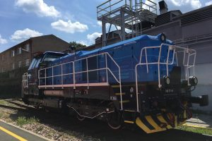 Modernizovaná lokomotiva 742.711. Foto: ČD Cargo