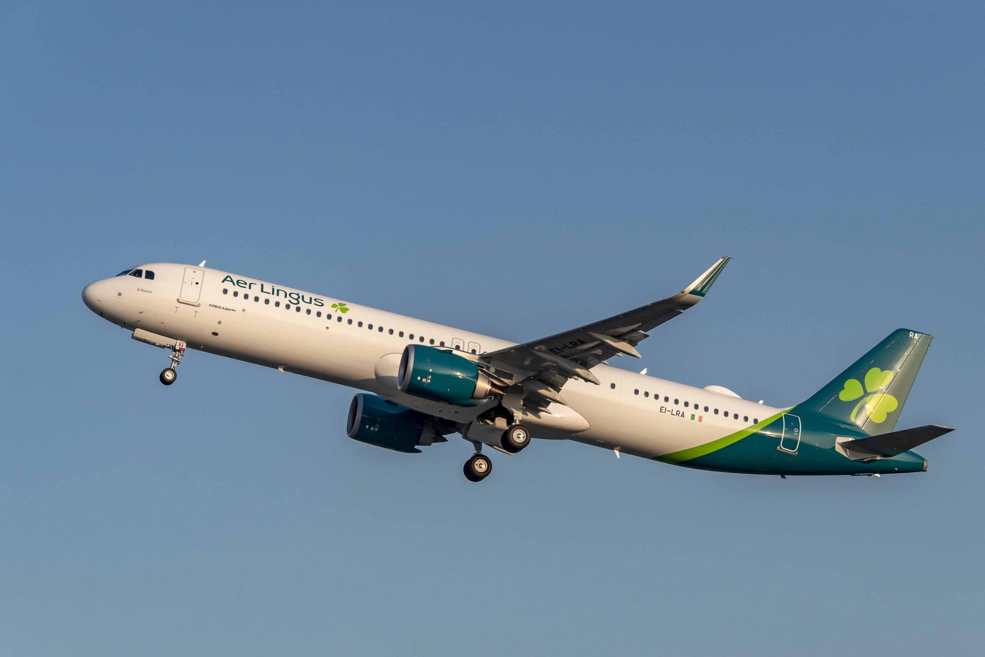 A321LR společnosti Aer Lingus. Foto: Airbus