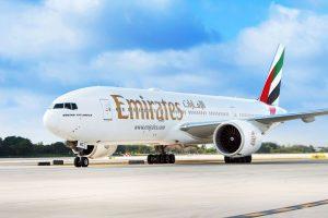 Boeing 777-200 LR společnosti Emirates. Foto: Emirates