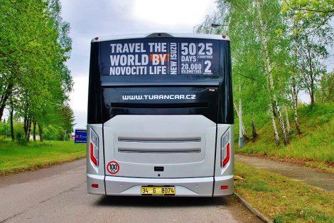 Midibus Isuzu NovoCiti Life. Pramen: OAD Kolín