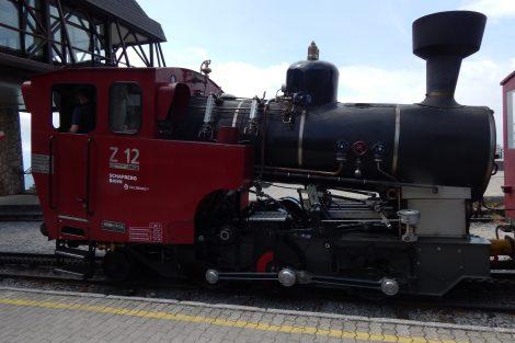 SchafbergBahn, moderní parní lokomotiva z 90. let 20. století. Autor: Zdopravy.cz/Jan Šindelář