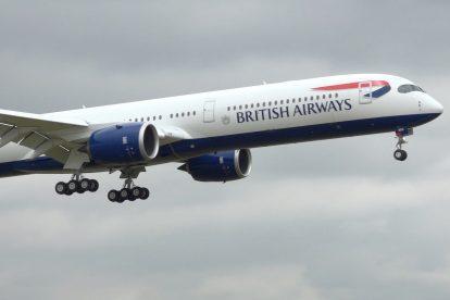 Nový A350-1000 v barvách British Airways. Foto: BA