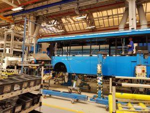 Výroba autobusů ve společnosti Iveco Czech Republic. Foto: Jan Sůra