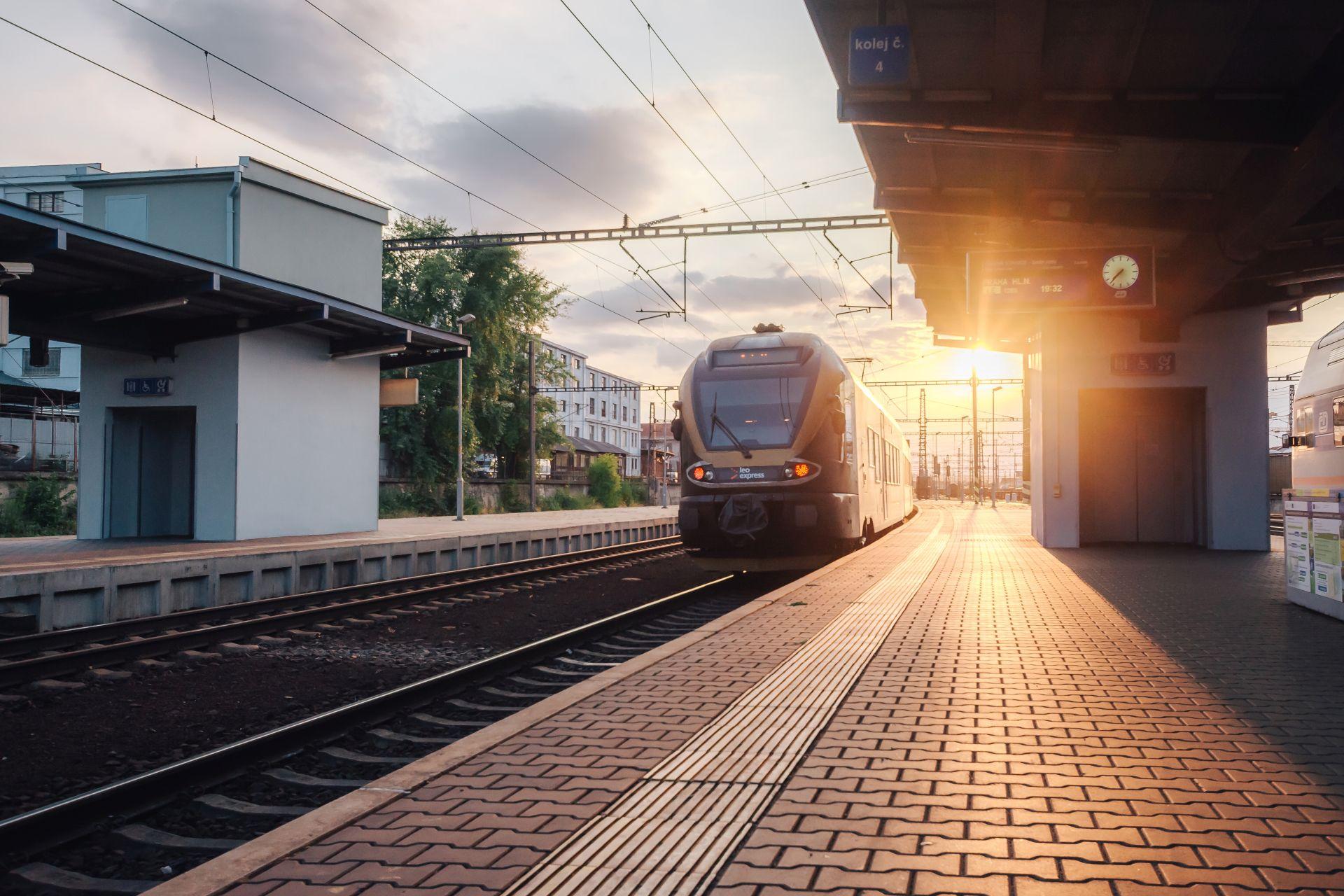Jednotka Stadler Flirt společnosti Leo Express. Foto: Leo Express