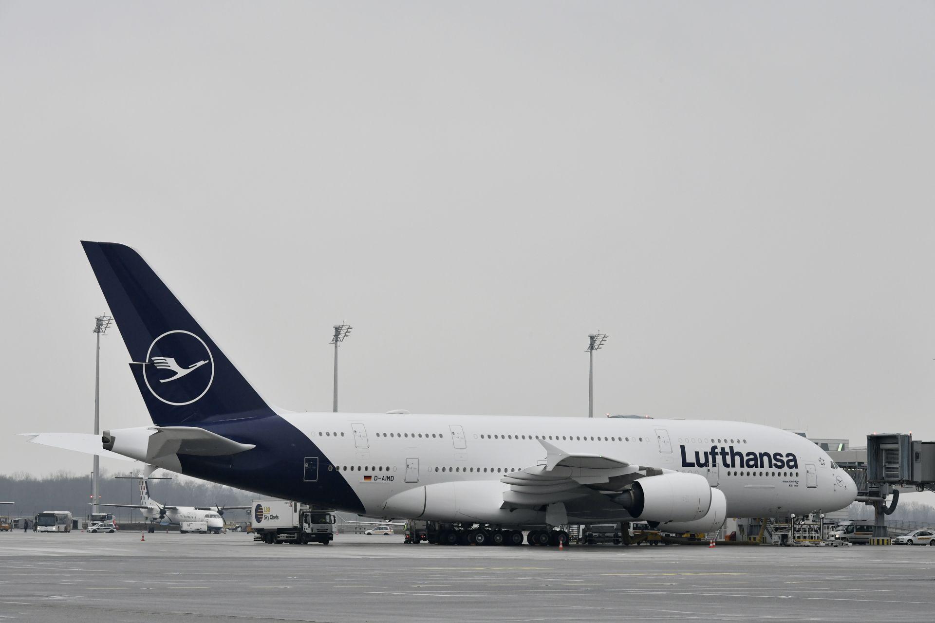Airbus A380 v novém nátěru od Lufthansy. Foto: Lufthansa