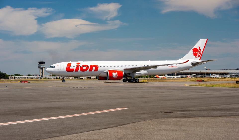 A330-900 v barvách Lion Air. Foto: Airbus