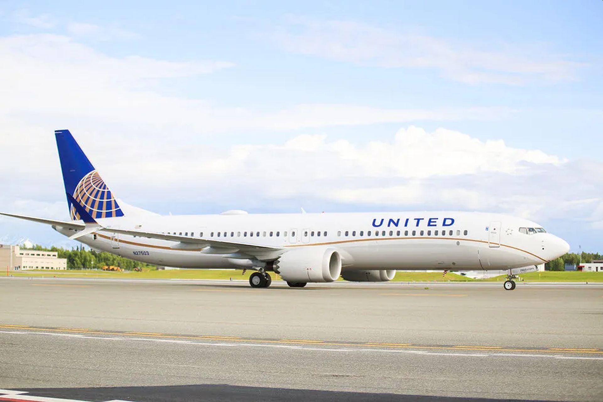 United Airlines a jejich Boeing 737 MAX 9. Foto: United Airlines