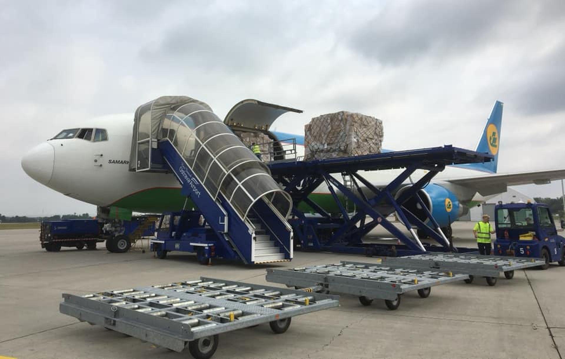 Boeing 767 společnosti Uzbekistan Airways. Foto: Letiště Ostrava