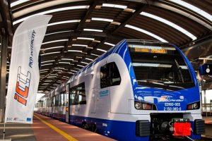 Jednotka Stadler Flirt v provedení pro PKP Intercity. Foto: Stadler