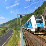 RegioPanter mezi Ústím nad Labem a Děčínem. Foto: České dráhy