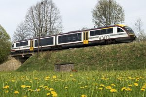 Siemens Desiro v barvách Städtebahn. Foto: Städtebahn Sachsen