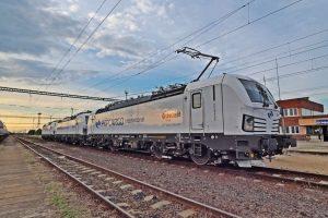 Lokomotivy Siemens Vectron pro AWT. Foto: AWT