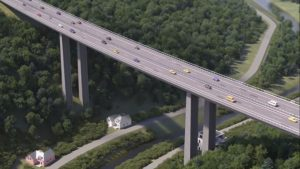 Most Vysočina. Vizualizace: ŘSD