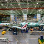 Boeing 777-9 pro Emirates ve výrobě. Foto: Emirates