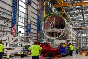 Výroba Airbusu A220 v závodě v Mobile v USA. Foto: Airbus