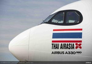 Airbus A330neo pro AirAsia. Foto: Airbus