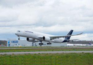 Airbus A350-900 v nátěru Lufthansy. Foto: Lufthansa