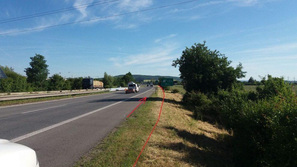 Rozšíření dálnice D10 mezi Mladou Boleslaví a Kosmonosy. Foto: ŘSD
