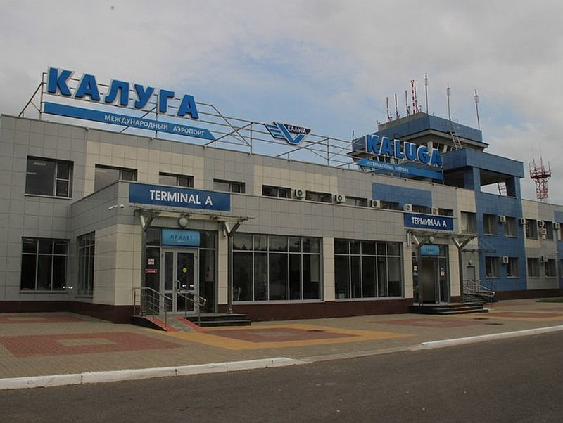 Terminál ruského letiště Kaluga. Pramen: Pardubický kraj