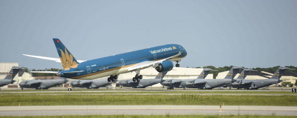 Boeing 787-10 v barvách Vietnam Airlines. Foto: Boeing