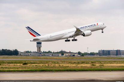 První let A350-900 pro Air France. Foto: Airbus