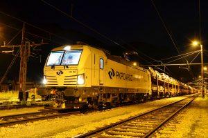 Vlak AWT ve Slovinsku. Pramen: AWT