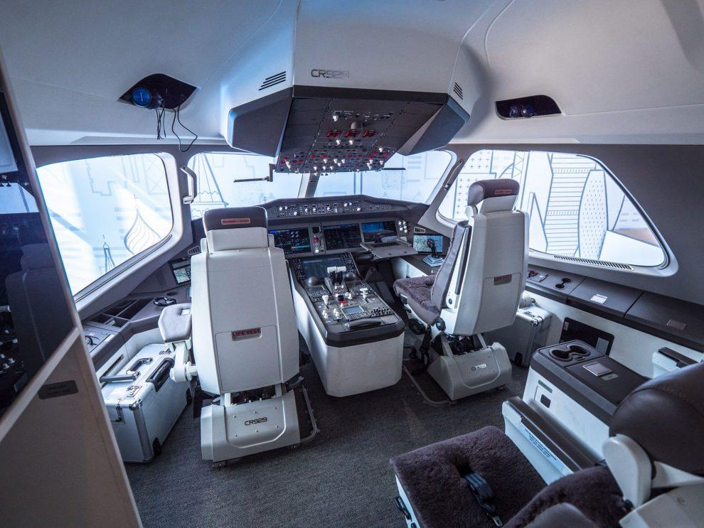 Kokpit letadla CR929. Foto: Rosťa Kopecký
