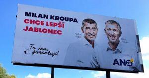 Andrej Babiš a Milan Kroupa. Oba ve střetu zájmů. Foto: Liberecké zprávy